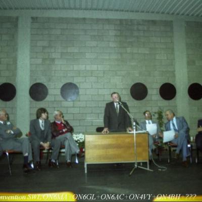 Photos de la Convention SWL à Herstal-Octobre 1982