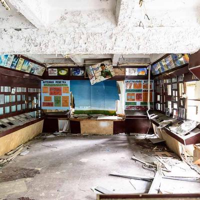 Antenne à Chernobyl