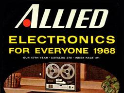 le catalogue allied radio 1929 1981