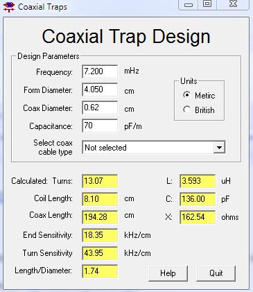 Coaxtrap