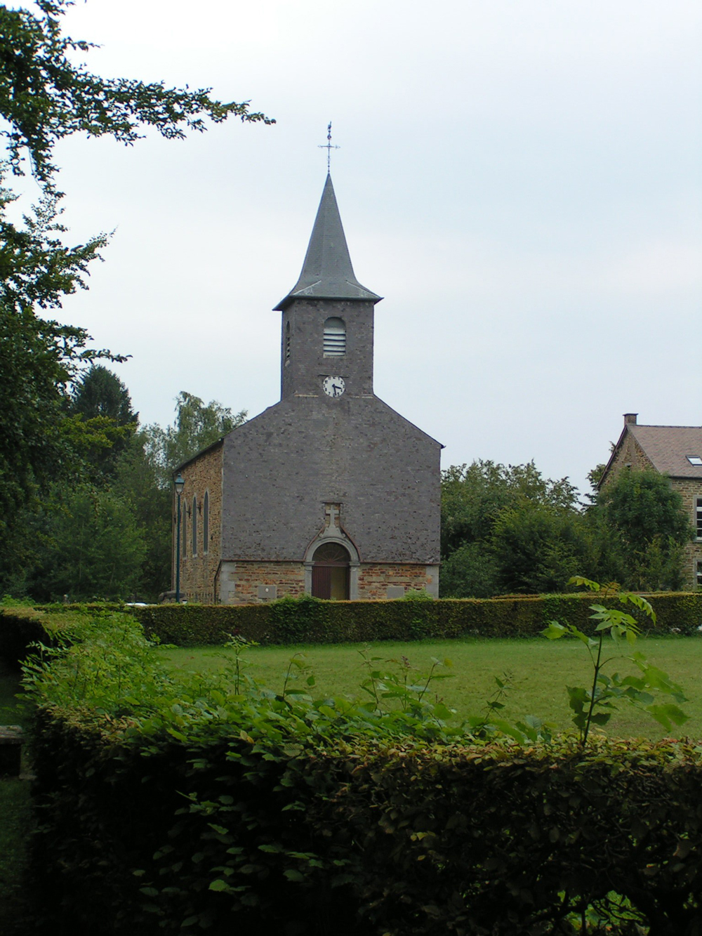 Eglise saint meen bruly de pesche