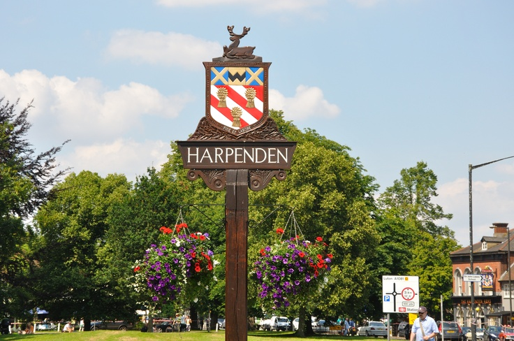 Harpenden town north of london