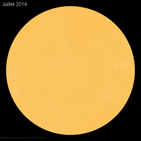 Soleil calme juillet 2014