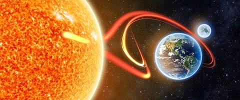 Sun earth vi