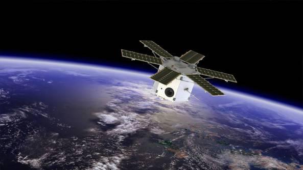 Tabletsat aurora in space