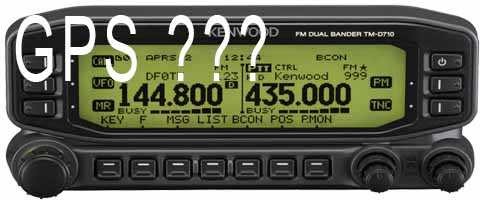 Tm d710 gps